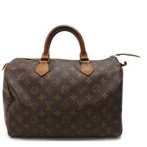 Auth Louis Vuitton Speedy 30 Hand Bag #3303L10